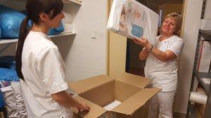 Národný ústav detských chorôb - darovanie pomôcok