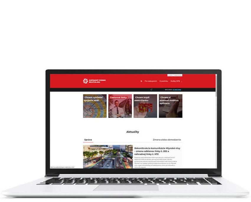 Web portal dpb.sk
